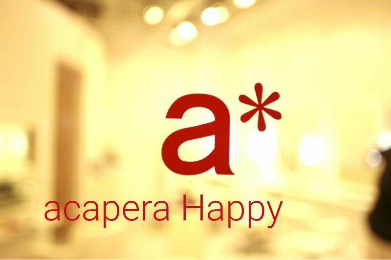 BE-SQUARE acaperaHappy